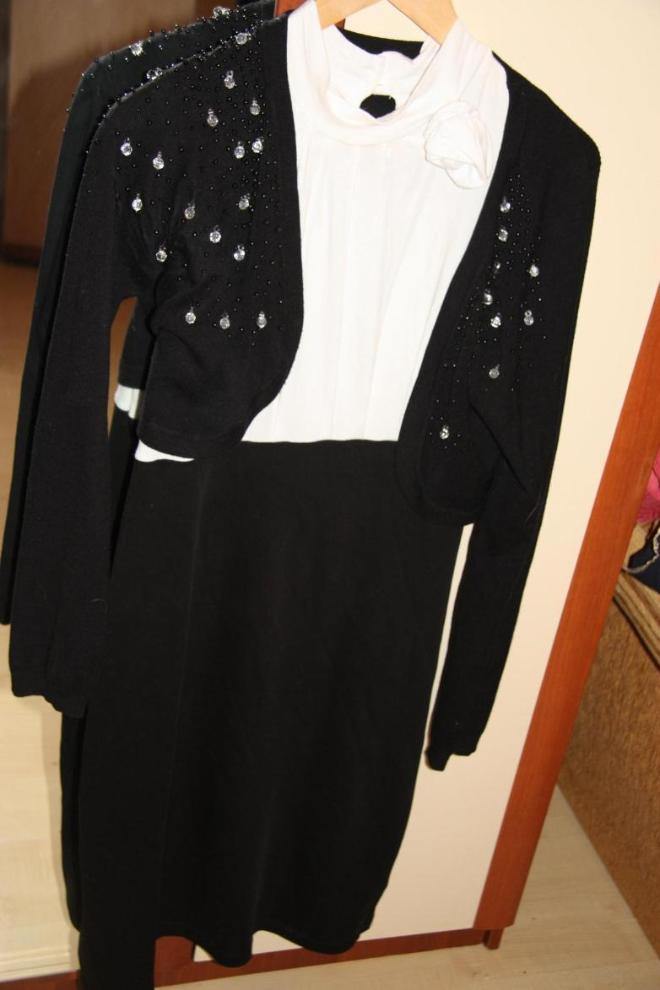 Платье Бон прикс 48размер с болеро хорошо сочетается. Болеро Viisavis