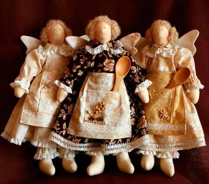 Удивительные Тильды, сделанные руками мастериц-еварушниц