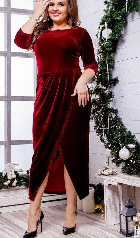 Автор: forlady, Фотозал: Я - самая красивая, Онлайн магазин FOR LADY предлагает вам приобрести вечернее бархатное платье большого размера с бесплатной доставкой в любой город России. В каталоге представлена разнообразная коллекция моделей от российских производителей. Вечерние платья и наряды большого размера от FOR LADY – это стиль и элегантность, а так же завистливые взгляды ваших подруг.  https://for-lady-shop.ru/products/vechernee-barhatnoe-platie  1900 руб.