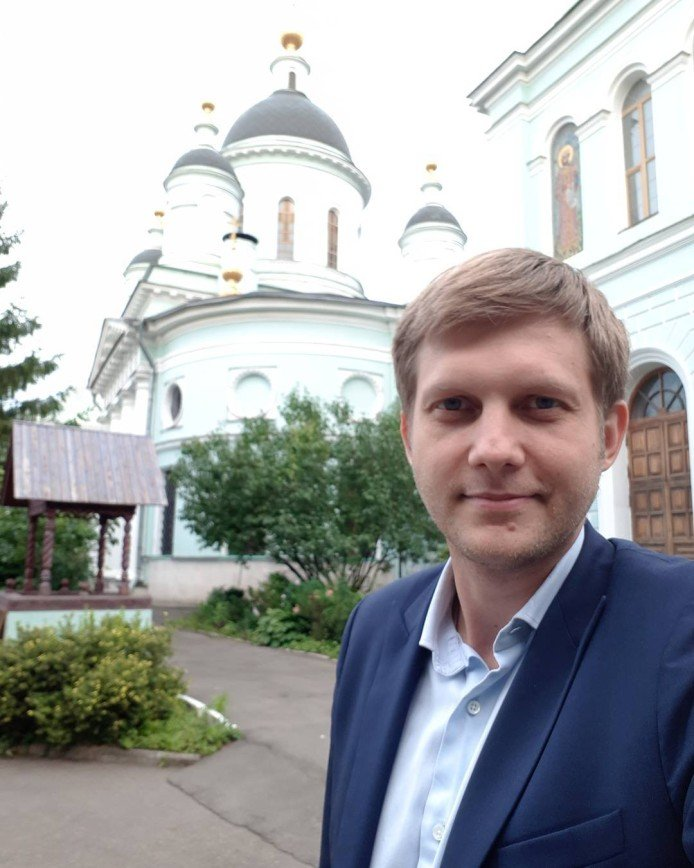 Борис Корчевников нашёл кусочек неба на земле