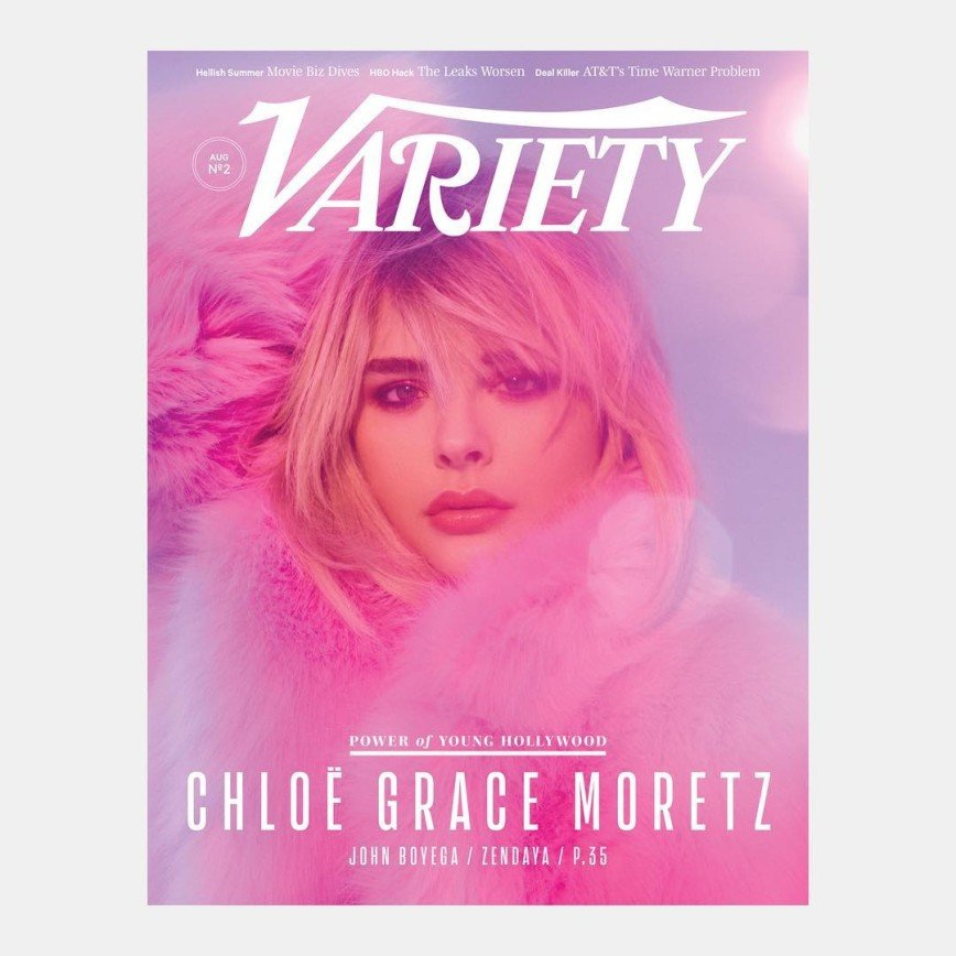 Хлоя Грейс Морец предстала в мехах на обложке «Variety Magazine»