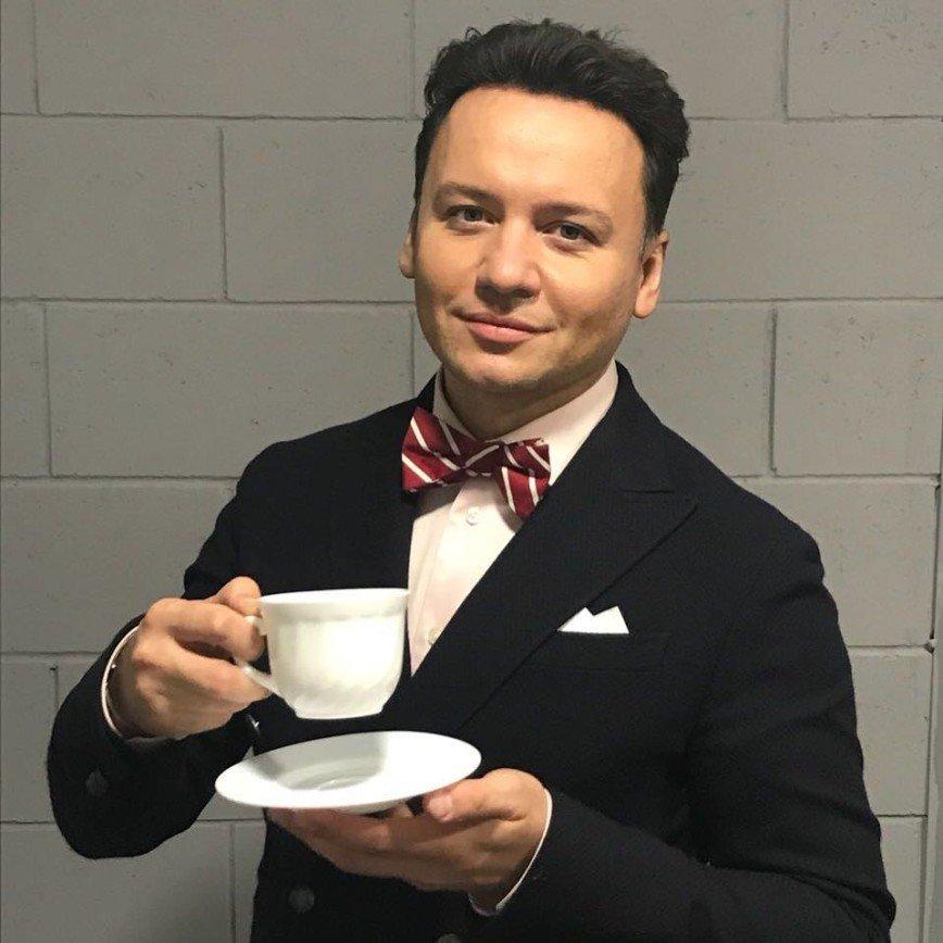 Александр Олешко показал домашнего любимца