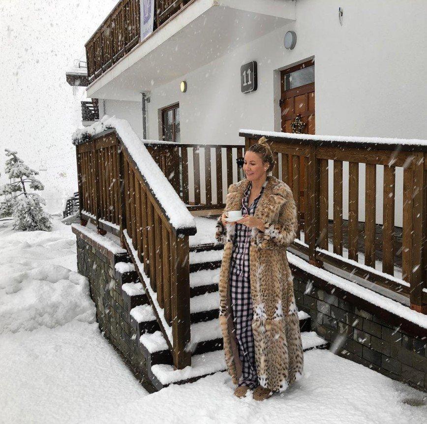 Елена Летучая показала по-настоящему доброе утро