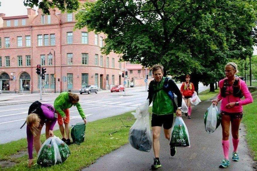 Плоггинг – новый экологичный фитнес