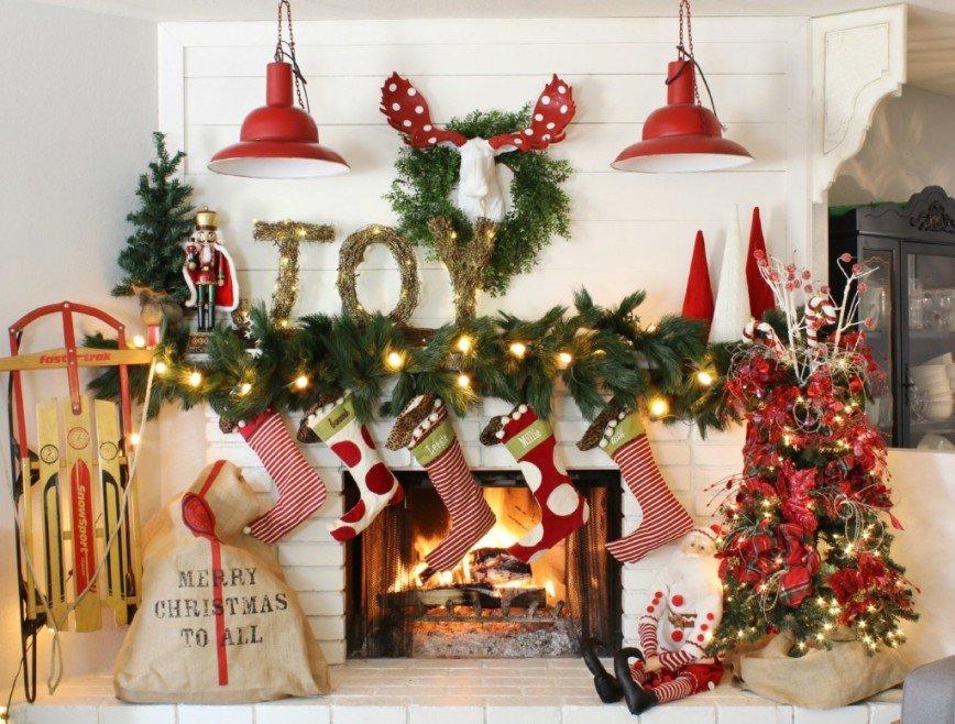 Как создать в интерьере новогоднее настроение без ёлки