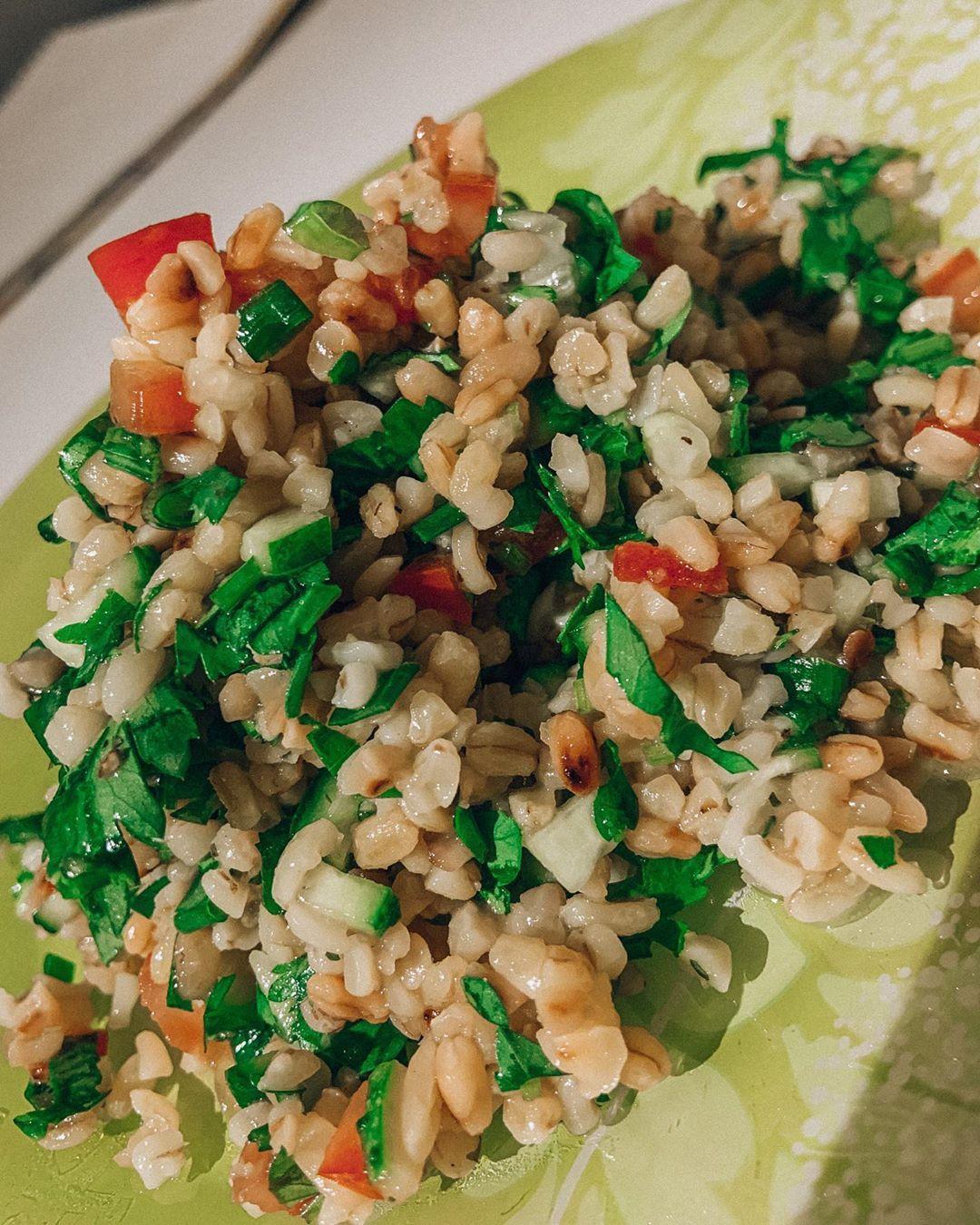 Ливанская кухня: салат табуле от Надежды Ангарский