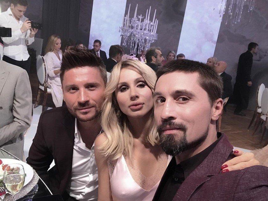 Все те же лица: Лазарев и Билан на венчании Рудковской
