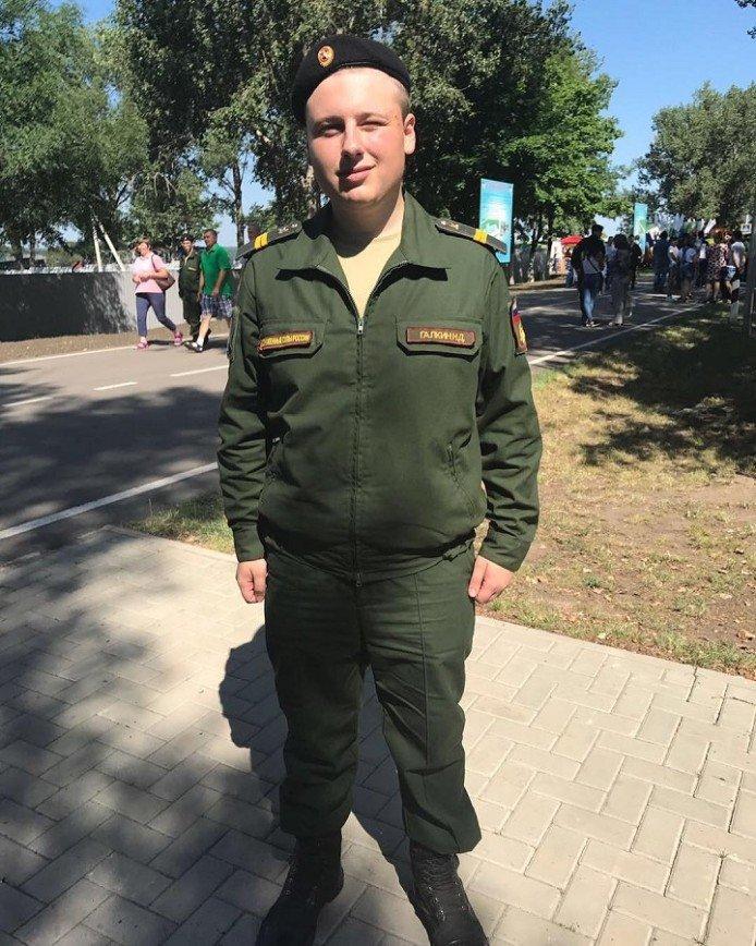 Племянник Максима Галкина отдает долг Родине