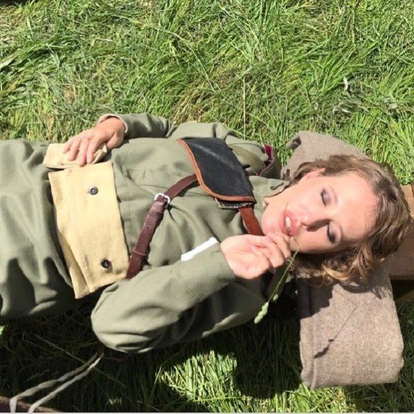 Ксения Собчак считает, что хорошо смотрелась бы на войне