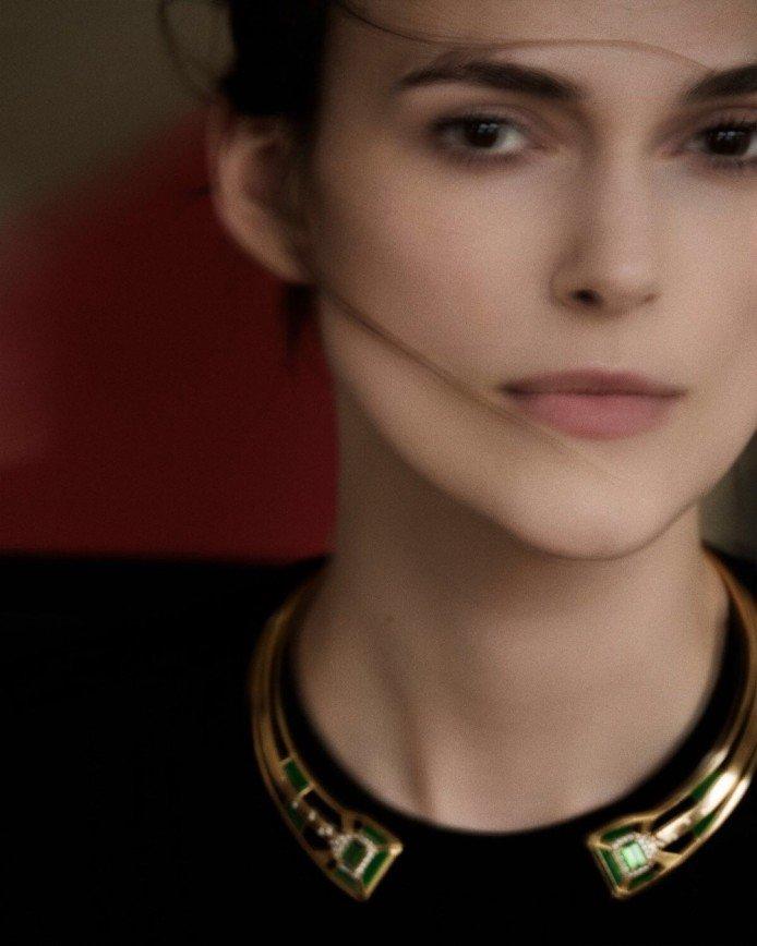 """""""Размазанная Кира"""": актриса Кира Найтли снялась для Шанель"""