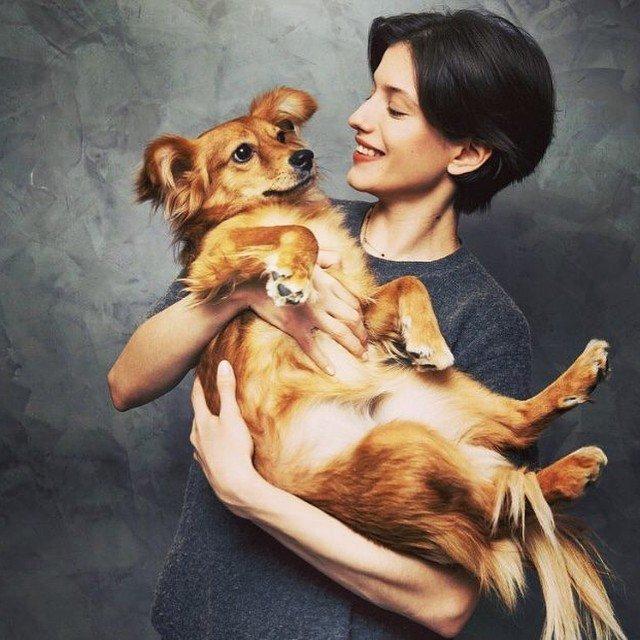 """Российские звезды снялись с бездомными животными в поддержку """"Юна-фест"""""""