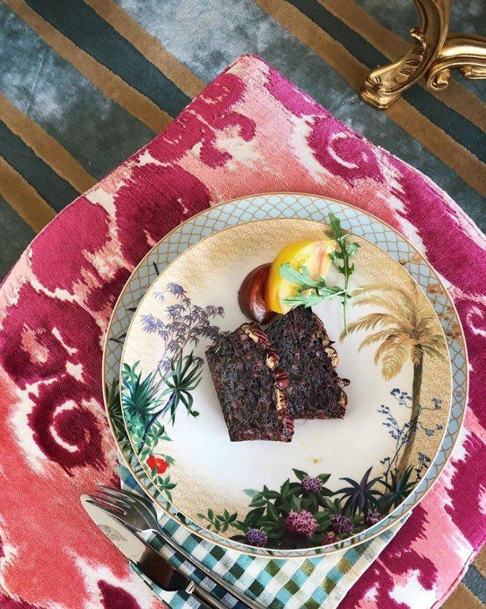 Запеканка из краснокочанной капусты с пеканом от Натальи Давыдовой