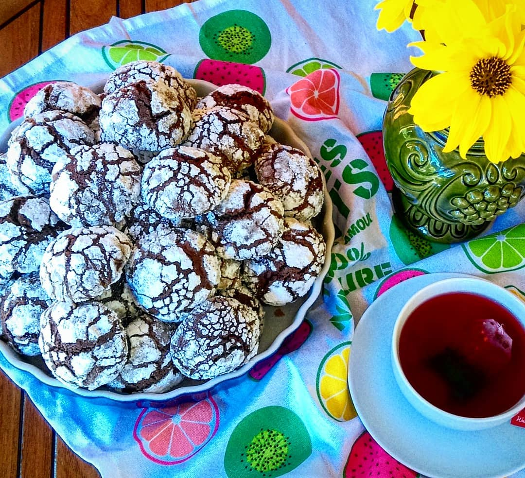 Любителям шоколада посвящается: мраморное печенье с неповторимым ароматом