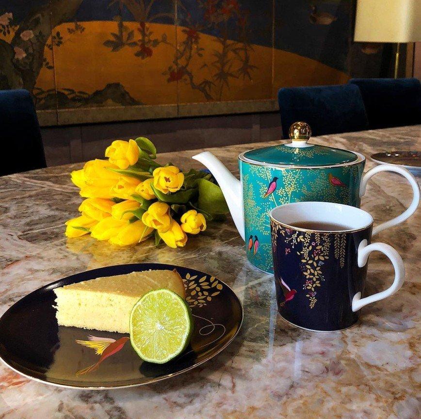 По-весеннему свежий: лимонный пирог с миндальной мукой