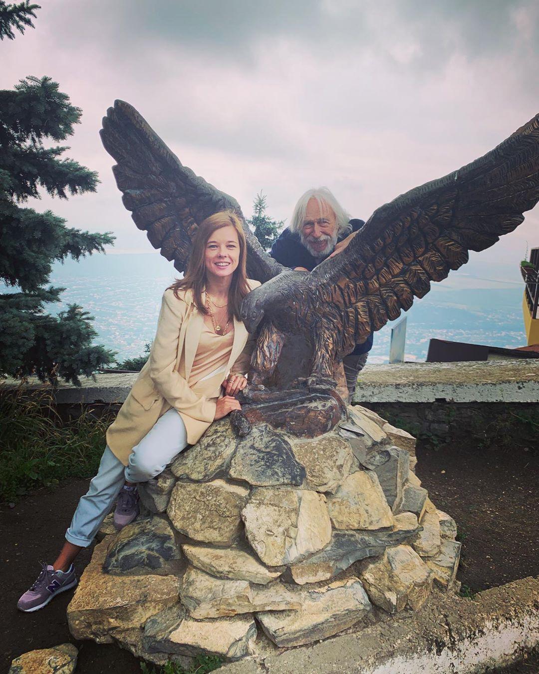 Высокий блондин в черном ботинке: Екатерина Шпица встретилась с Пьером Ришаром