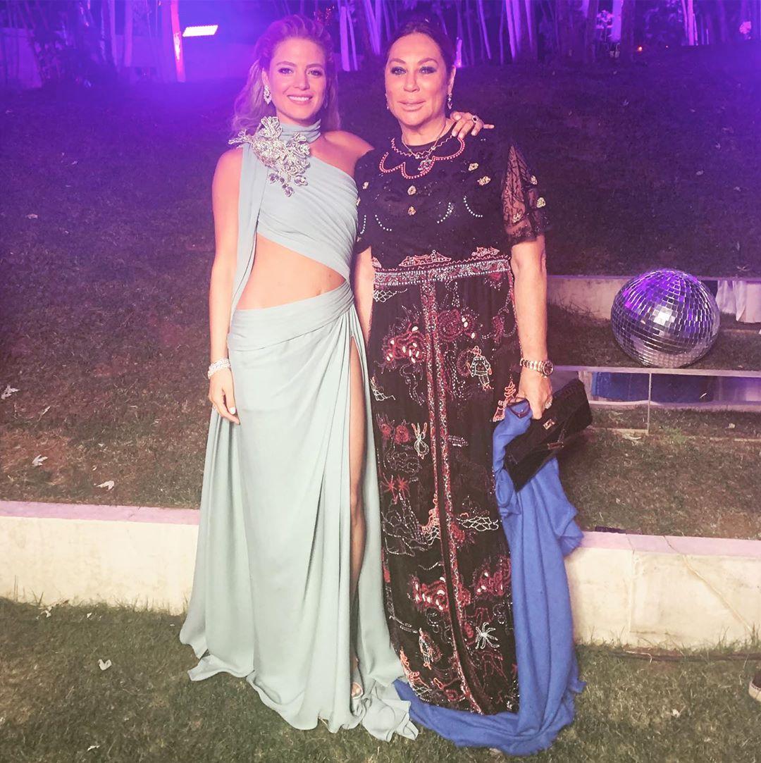 Алла Вербер побывала на свадьбе сына дизайнера Эли Сааба и показала невероятной красоты платье невесты