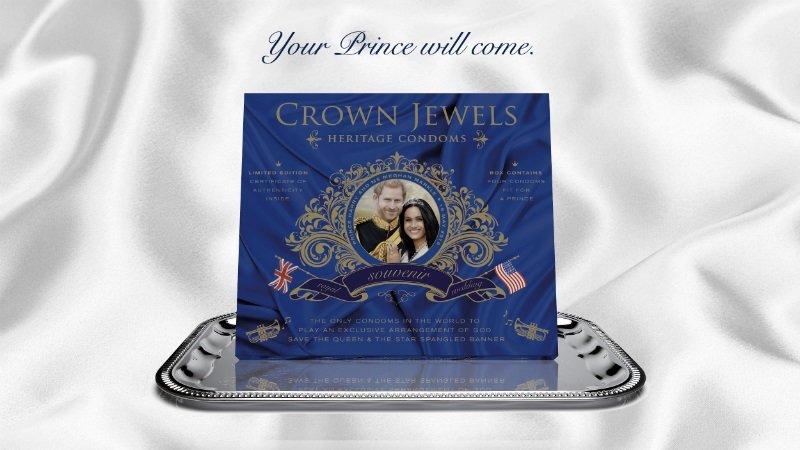 К свадьбе принца Гарри выпустят презервативы, исполняющие гимн Великобритании