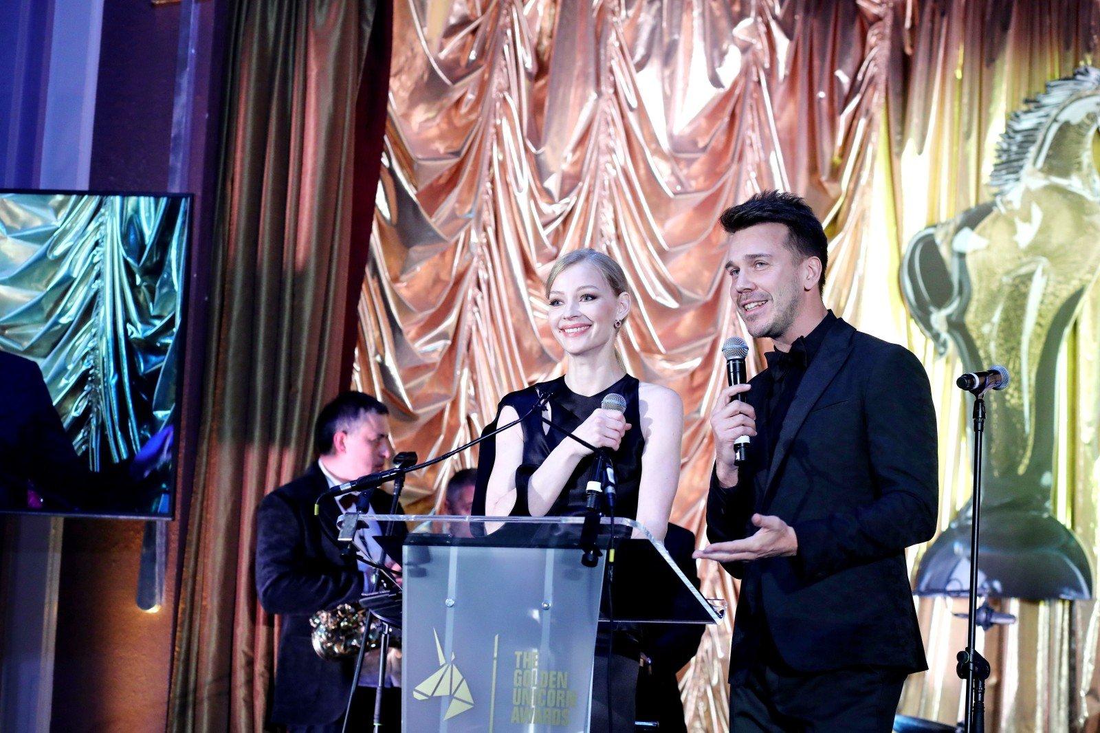 Данила Козловский и Филип Перкон раздали в Лондоне «Золотых Единорогов»