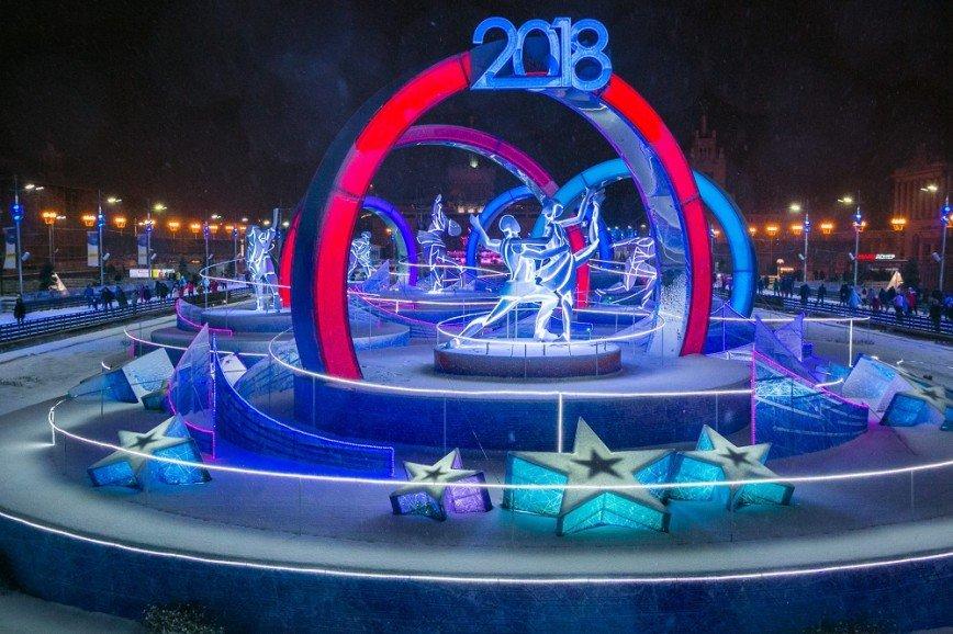Старый Новый год встретят на ВДНХ  ретродискотекой