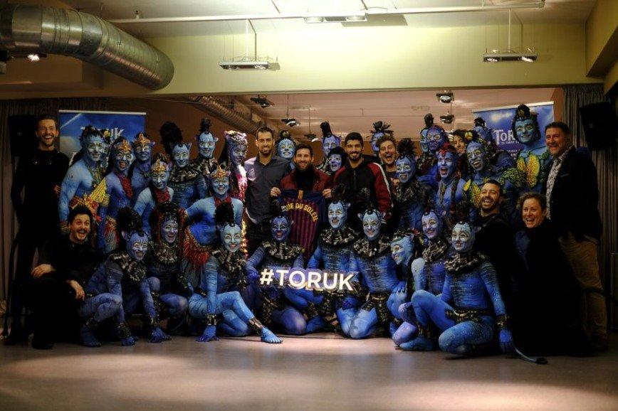 Cirque du Soleil создаст шоу о жизни Лео Месси