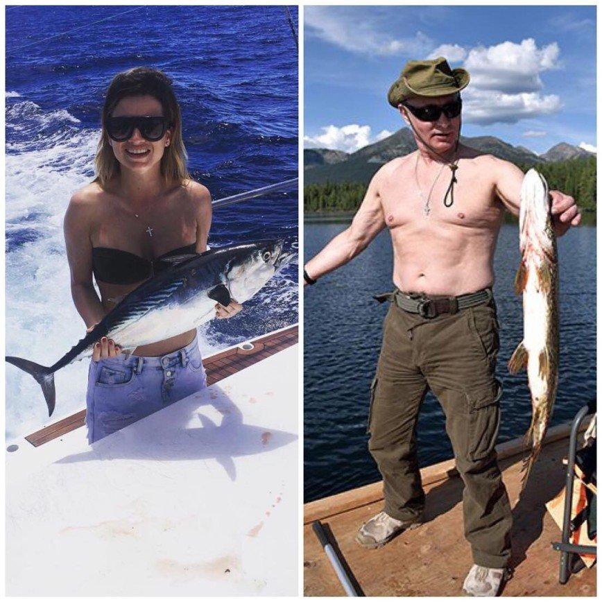 Ксения Бородина гордится Владимиром Путиным