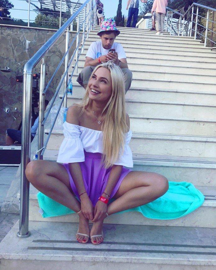 Наталья Рудова раздвинула ноги