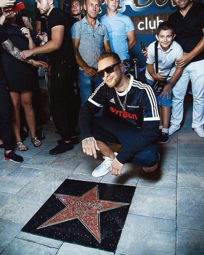 Егор Крид получил свою звезду на Голливудской «Аллее славы»