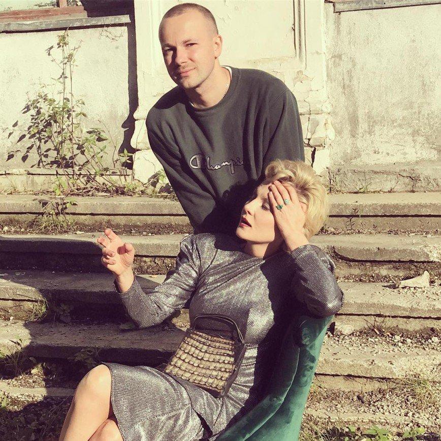 Литвинова и Рубчинский разработали совместный проект