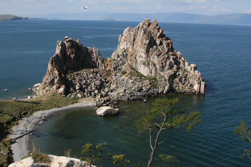 Автор: dmitry64, Фотозал: Туристические зарисовки, бухта у скалы Шаманка