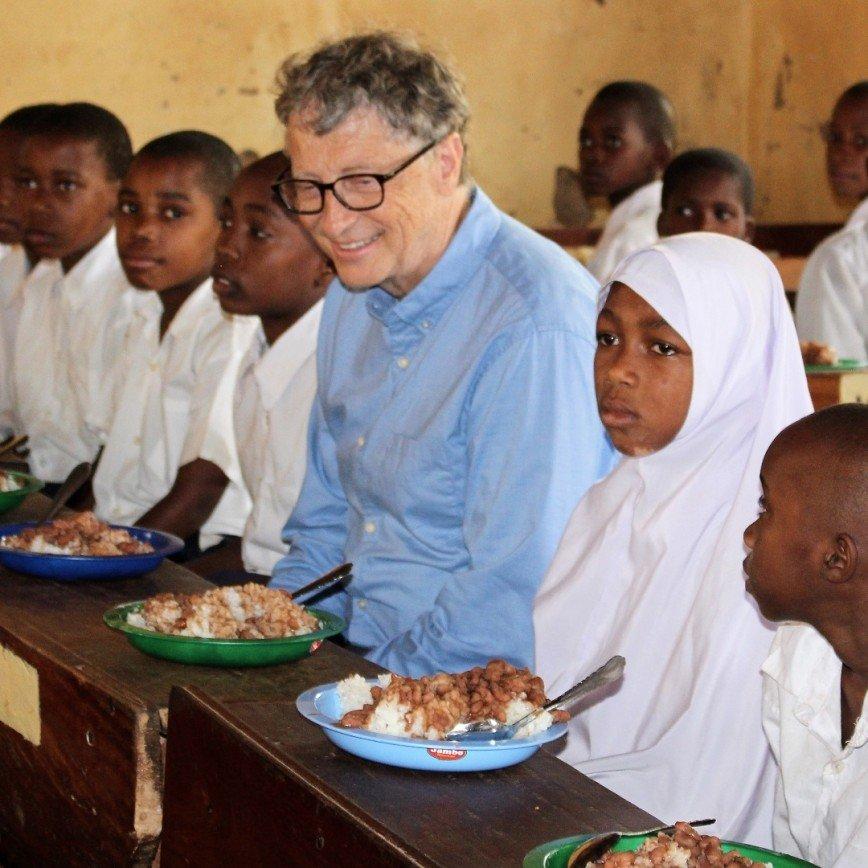 Первая публикация Билла Гейтса в Инстаграме набрала за сутки более 50 тысяч лайков