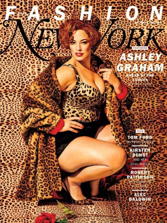 Пышная Эшли Грэм доказала свою сексуальность