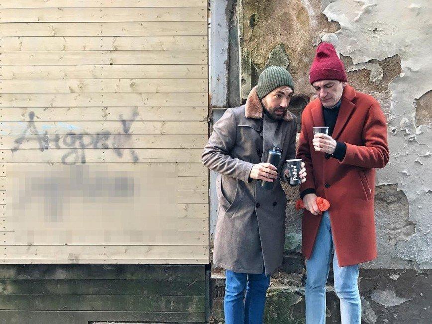 Бедняков и Гудков развеселили совместным фото
