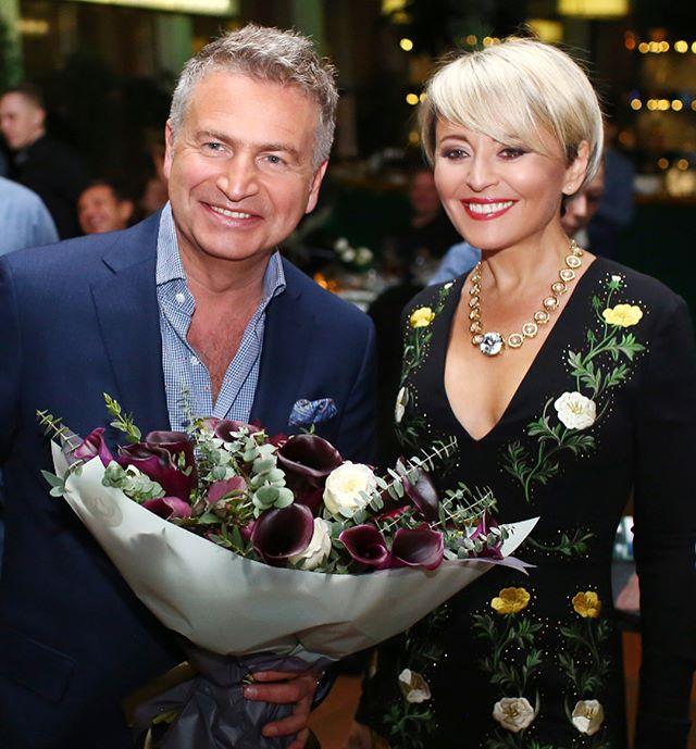 Несмотря на болезнь, Анжелика Варум пришла поздравить Владимира Преснякова