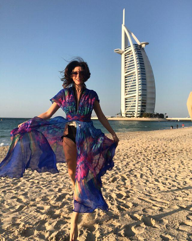 «Я в раю»: Анастасия Макеева рассказала о впечатлениях от Дубая