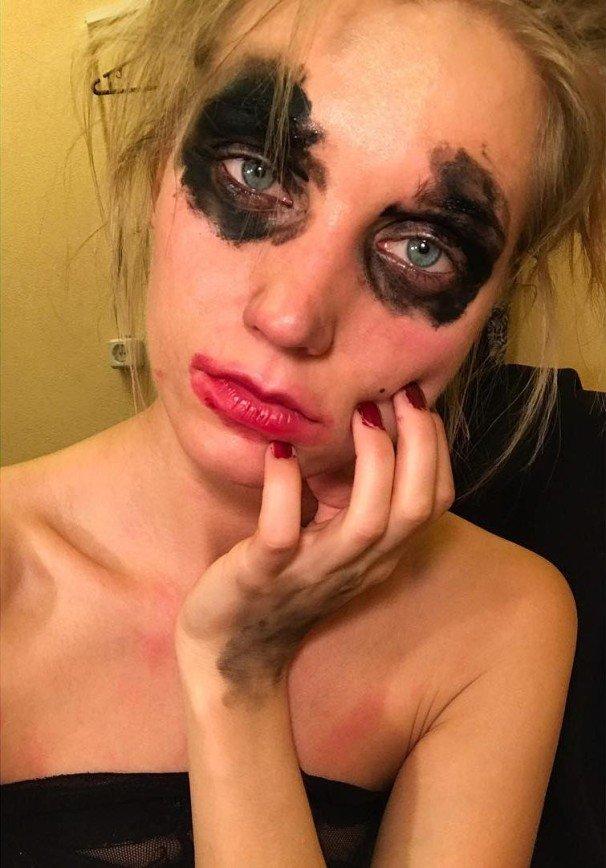 Странный макияж Кристины Асмус напомнил о творчестве Евгения Осина