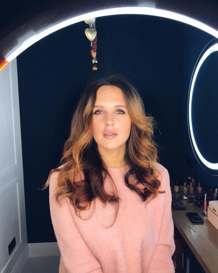 Мария Шумакова экспериментирует с макияжем