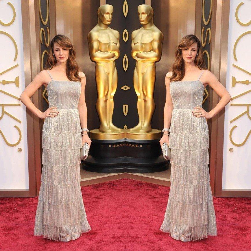 Как Дженнифер Гарнер искала свое идеальное платье на Оскар