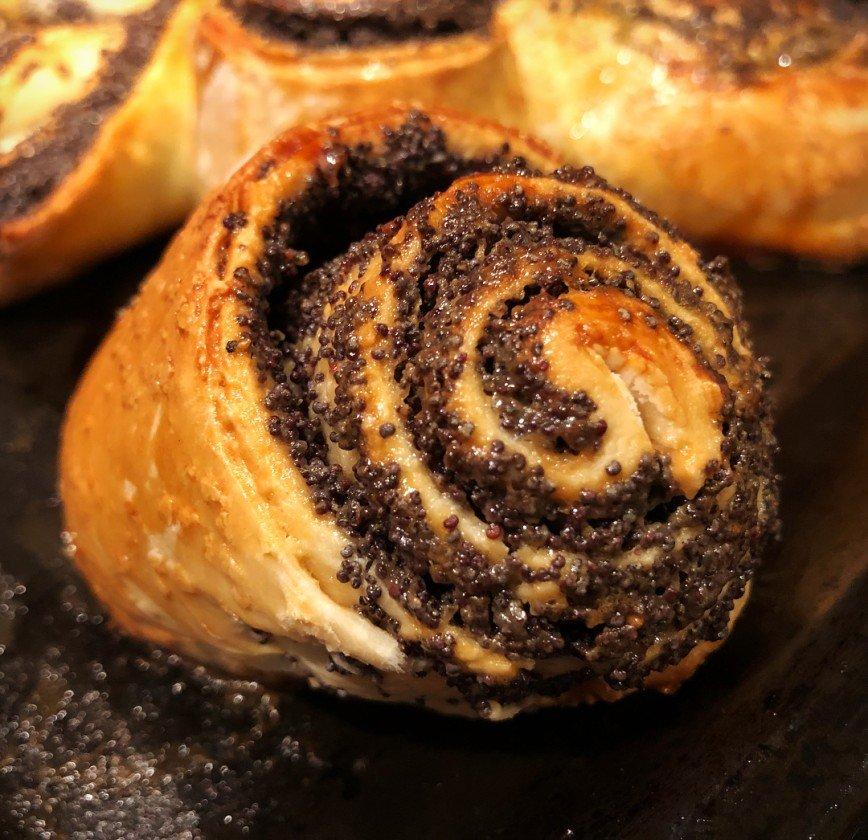 наши рецепты маковые булочки рецепт с фото например