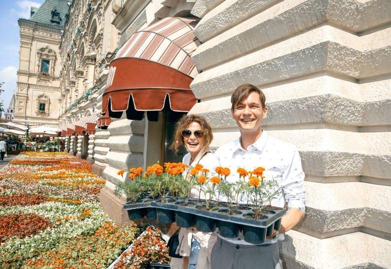 «Они великолепны»: Оксана Фандера и Филипп Янковский открыли фестиваль цветов