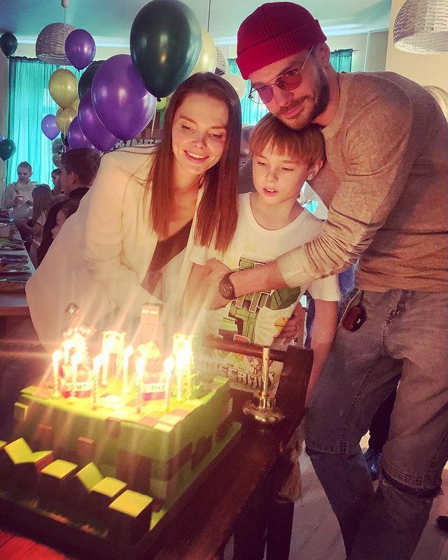 Елизавета Боярская и Максим Матвеев показали редкое фото подросшего сына
