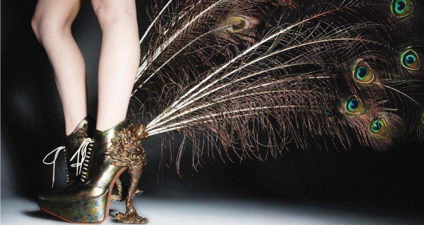 Щупальца, пауки и губная помада: эпатажные каблуки 21 века