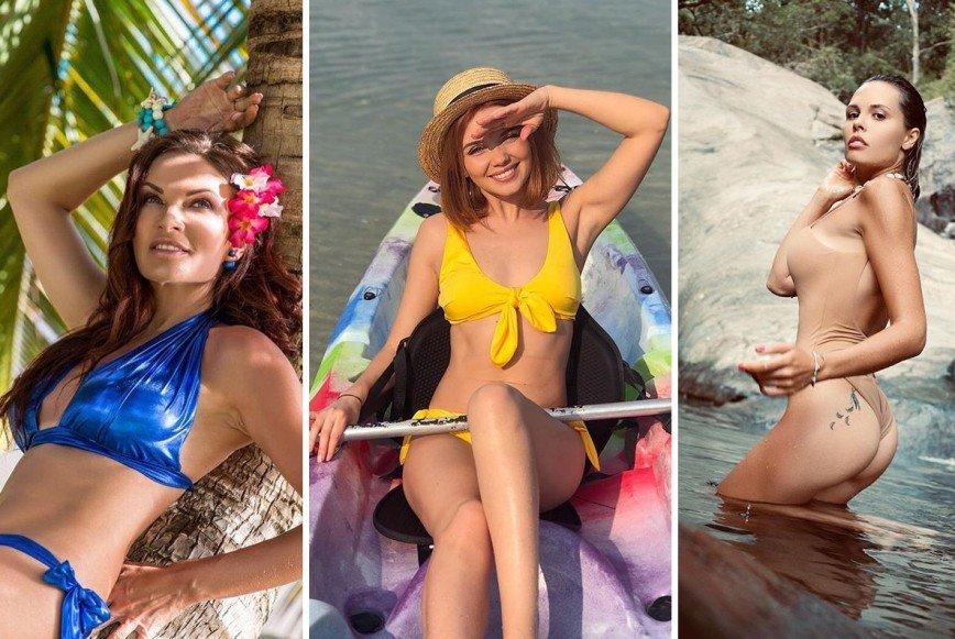 Как выбрать купальник: находим крутые идеи в пляжном гардеробе звезд