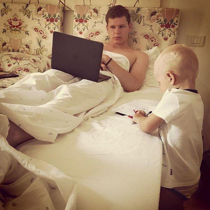 Братская идиллия: Максим Виторган показал общее фото сыновей