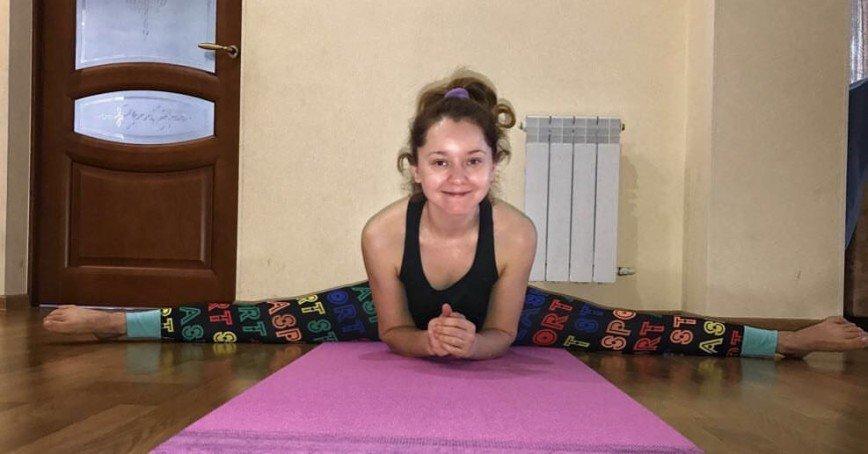 Валентина Рубцова продемонстрировала отличную физическую форму