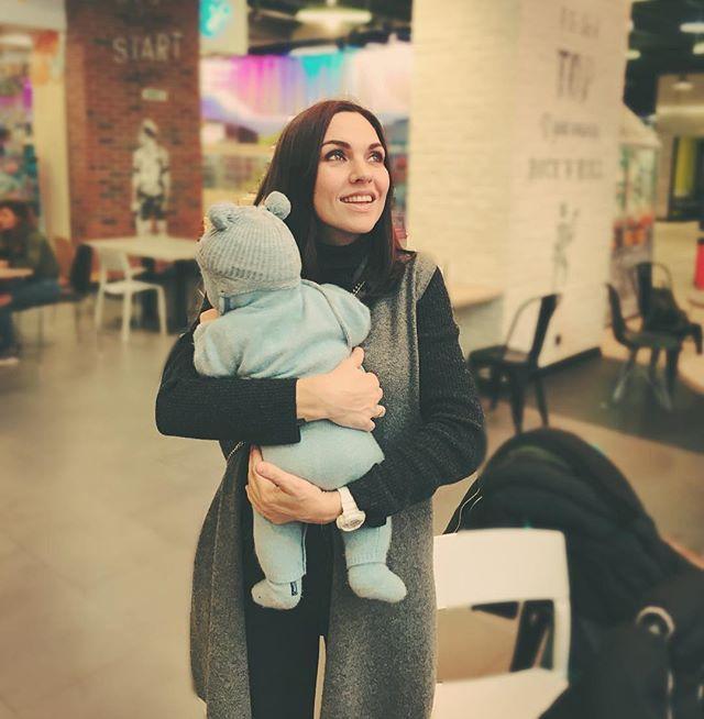 «Сладкий бутуз!»: Надя Ручка впервые показала трехмесячного сына