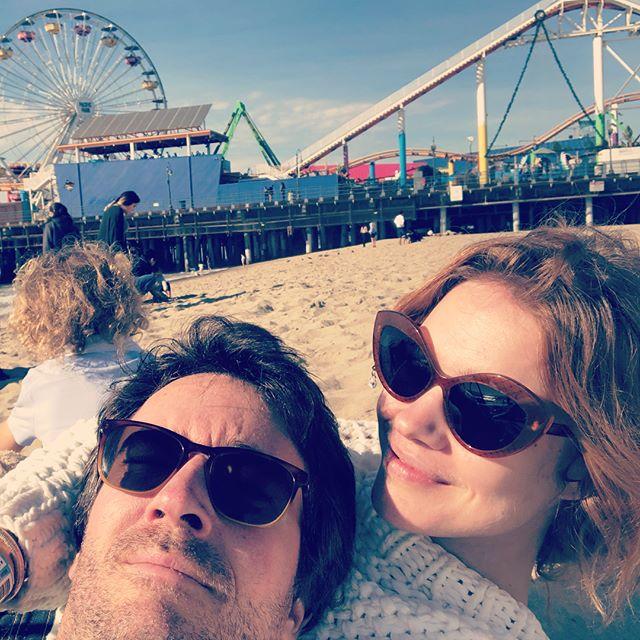 Наталья Водянова опубликовала трогательные снимки семейного отдыха