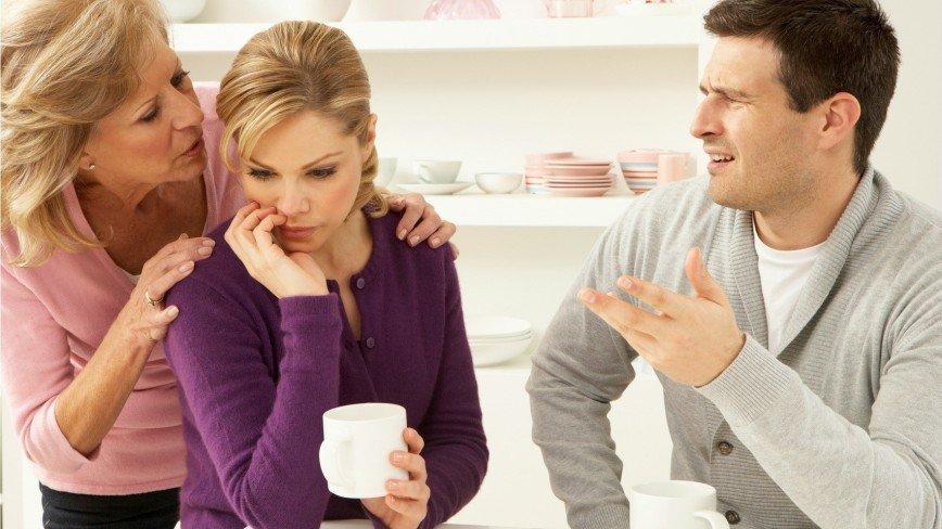 Три способа ужиться со свекровью и не испортить отношения с мужем