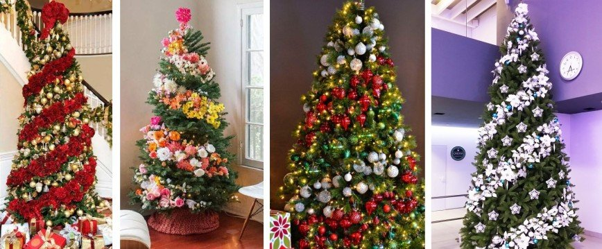 5 идей, как оригинально украсить елку к Новому году