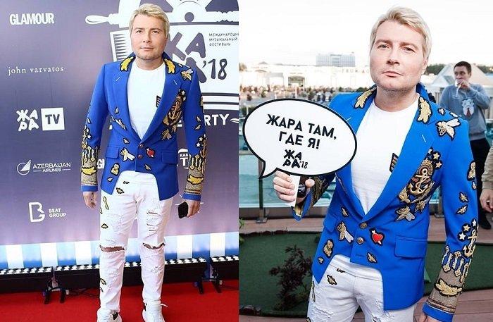 «Что же так износился»: в сети высмеяли костюм Николая Баскова