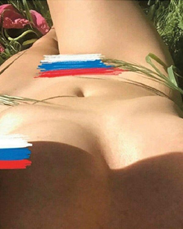 Жанна Агузарова разделась в поддержку нашей сборной по футболу